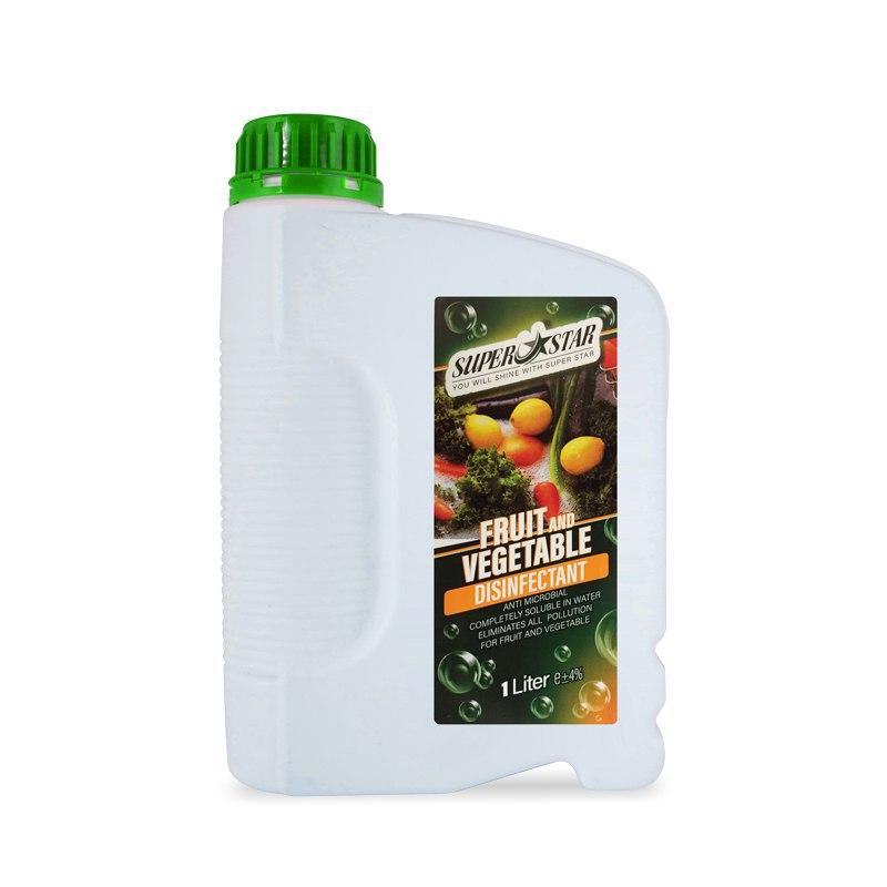 محلول ضد عفونی کننده میوه و سبزیجات 1000 میلی لیتر